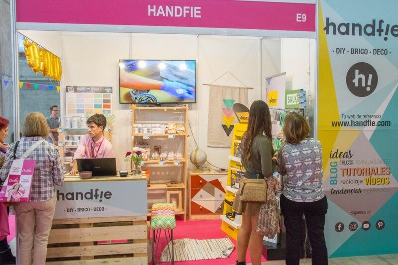 Handfie, espacio en Creativa Madrid