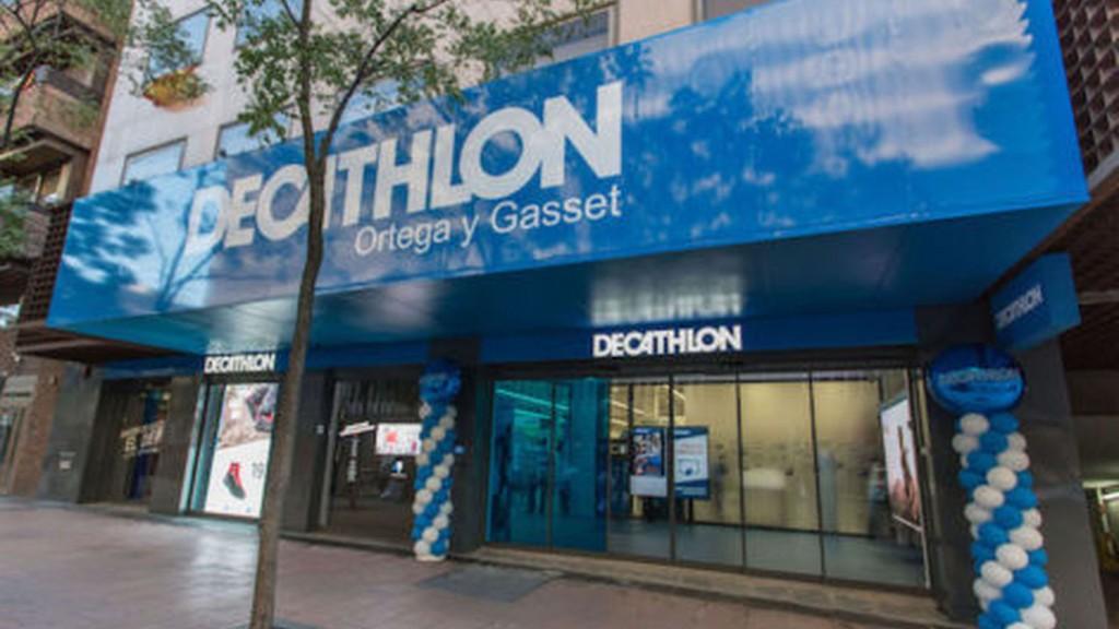 Fachada del nuevo Decathlon calle Ortega y Gasset, Madrid