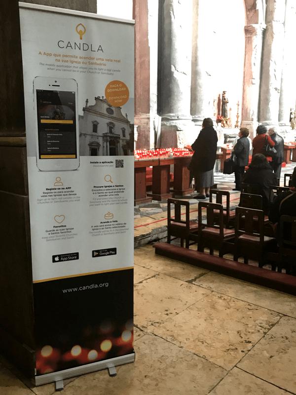 Candla, la app para encender velas en las iglesias