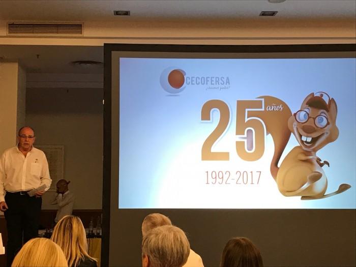 Cecofersa celebró su 25 aniversario con asociados y proveedores