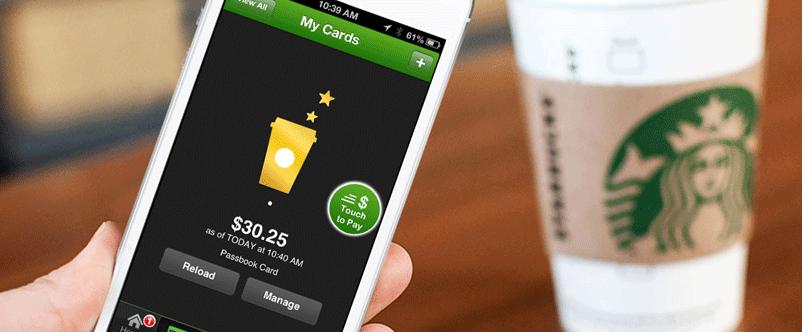 Starbucks app pide y paga