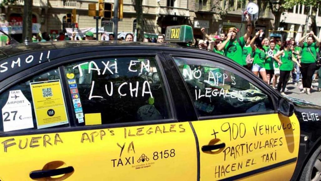 El Taxi contra Uber