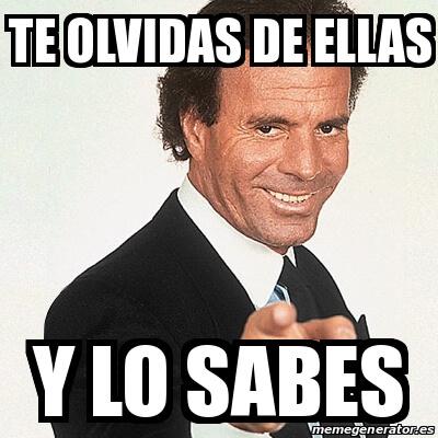 Meme Julio Iglesias