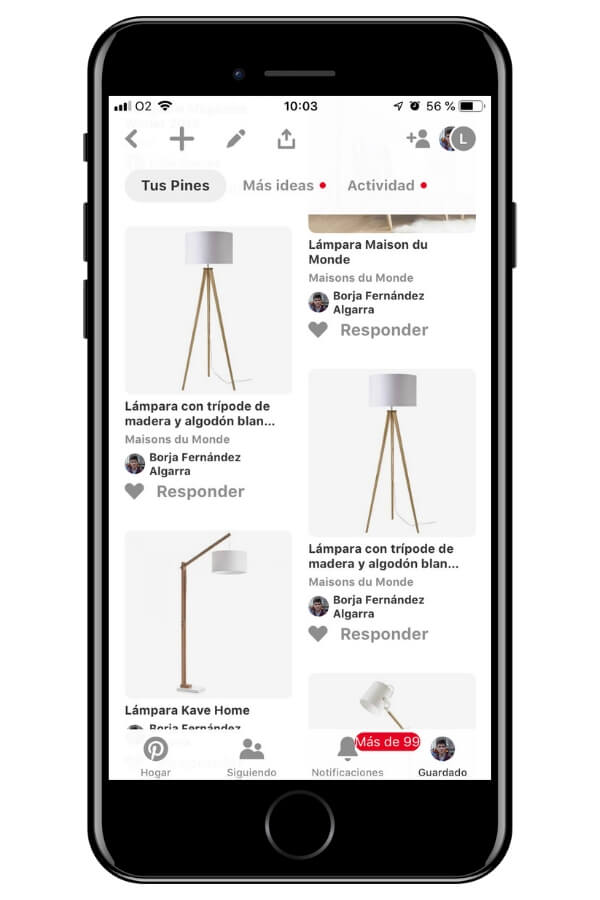 Ideas de lámparas en Pinterest