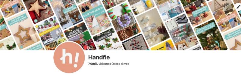 Perfil de Handfie en Pinterest