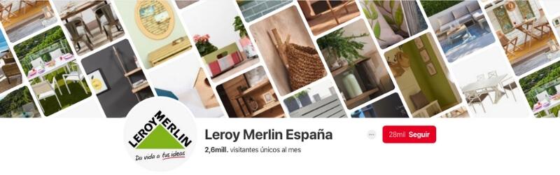 Perfil Leroy Merlin en Pinterest