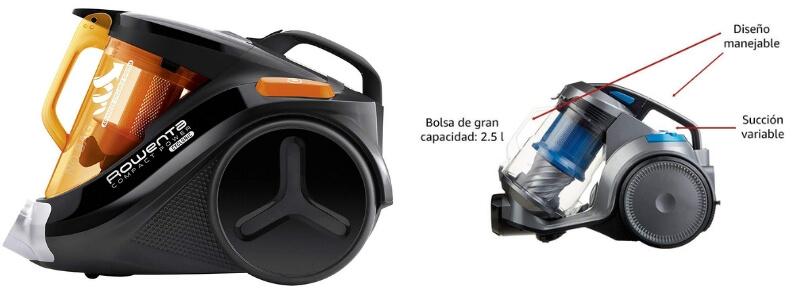 Evolución de aspirador de marca a versión de marca blanca Amazon Basics