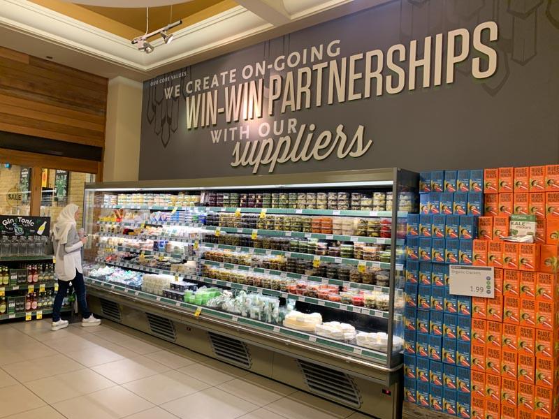 Acuerdos justos con proveedores en Whole Foods