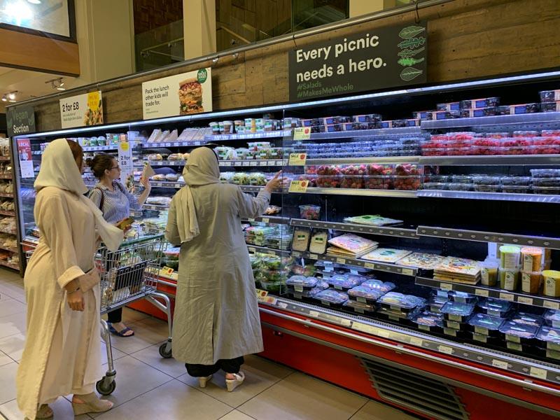 Tienda de Whole Foods integrada con lo social