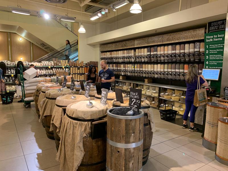 Legumbres a granel en Whole Foods