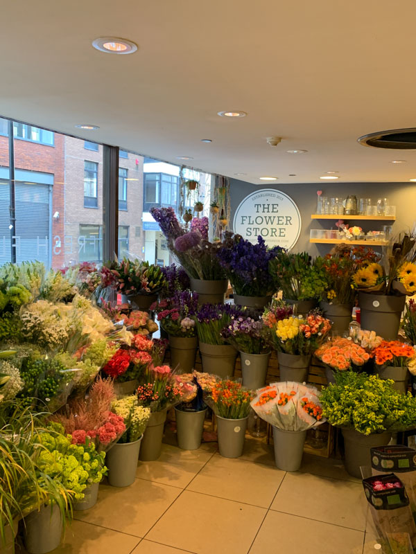 Cursos de flores en Whole Foods