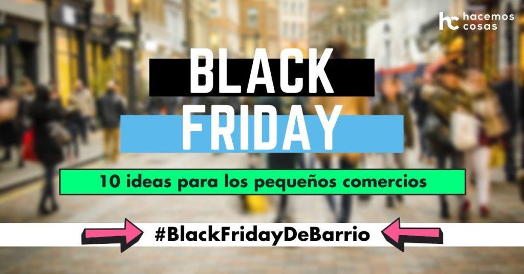 Black Friday para pequeños comercios