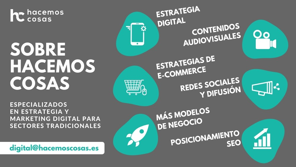 Estrategia digital y marketing digital en Hacemos Cosas
