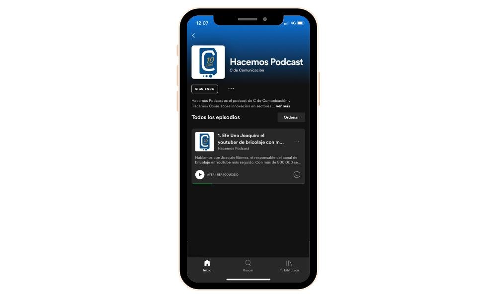 Hacemos Podcast, Efe Uno Joaquín