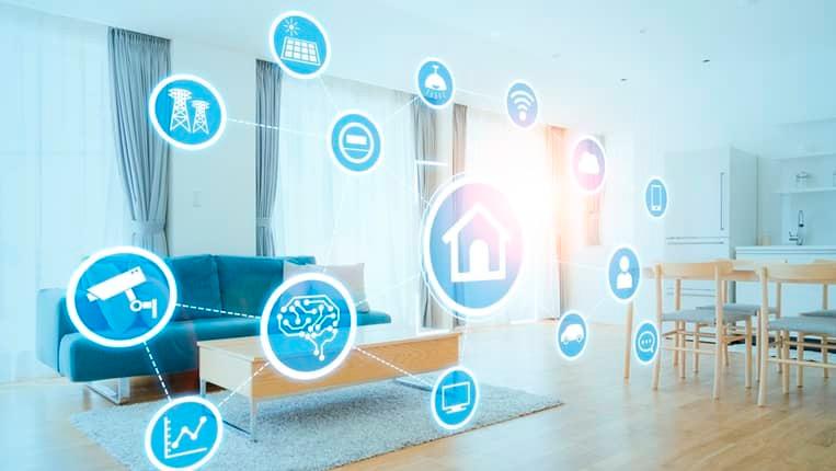 La domótica, cada vez más accesible, es una tendencia en auge en las viviendas.