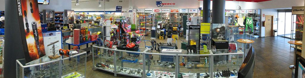 El suministro industrial Herco está ubicado en Zaragoza, en la localidad de Cuarte de Huerva