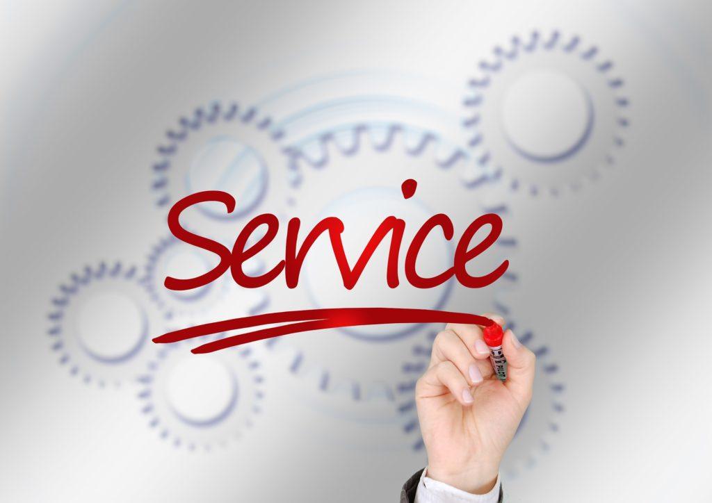 Todo el mundo espera recibir un buen servicio por lo que compra o recibe.