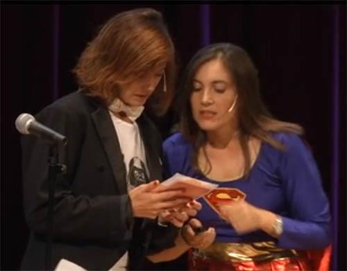 Marián García, Boticaria García, y Gemma del Caño.
