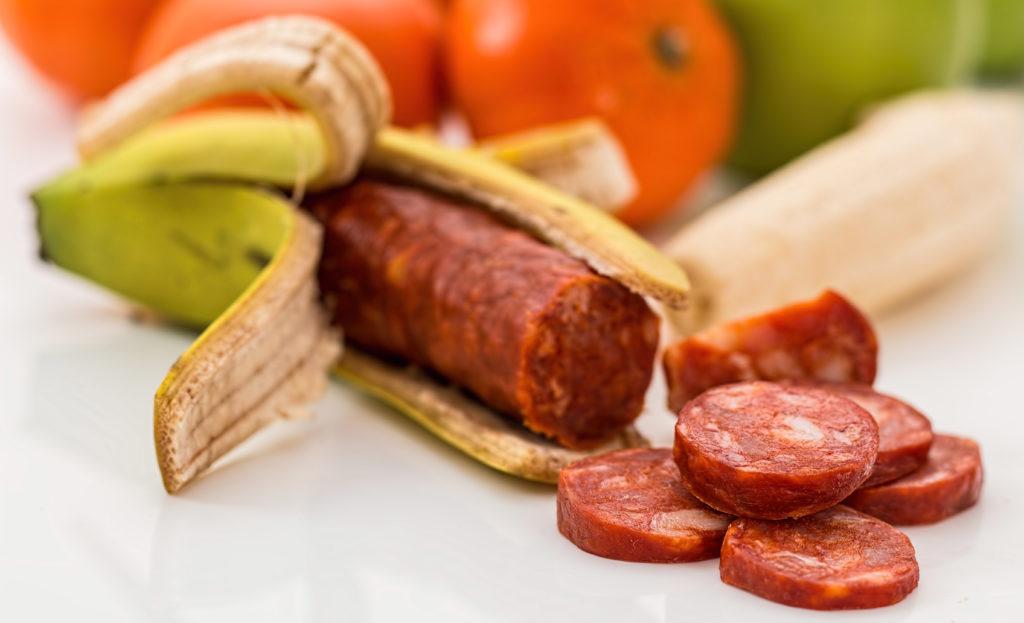Meat Attraction, carne y fruta.