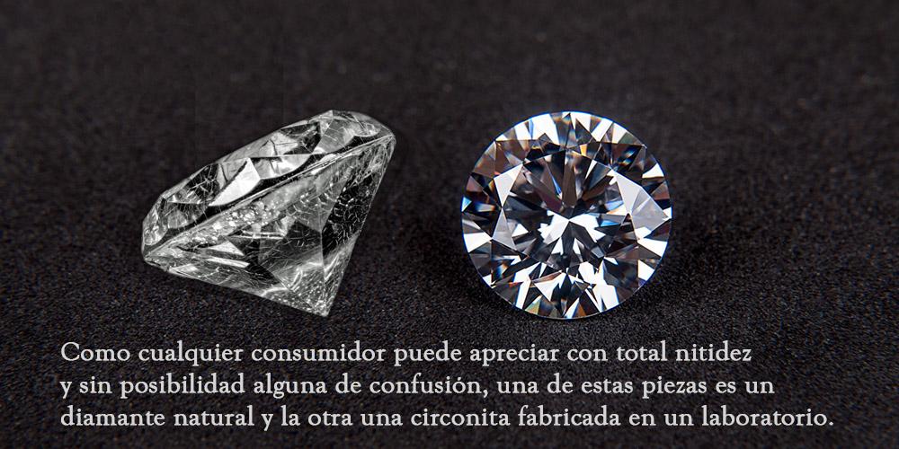 Denominaciones cárnicas y diamantes.