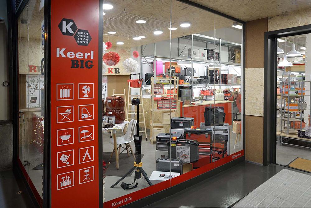 Tiendas: Ferretería Keerl, escaparate
