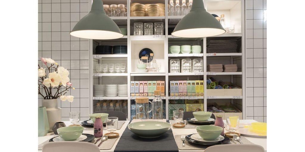 Ikea Goya ambientación mesa de comedor