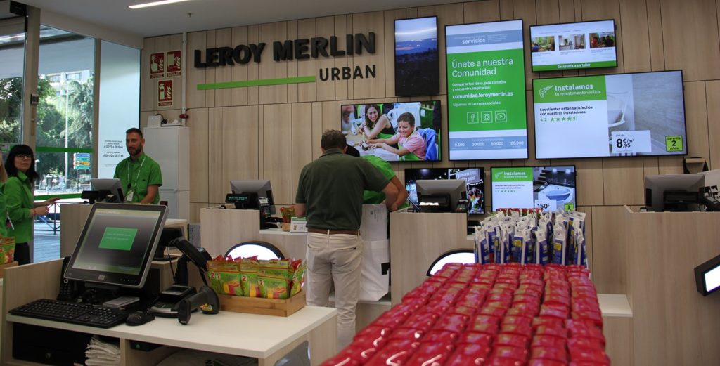 Leroy Merlin Urban Cajas de pago