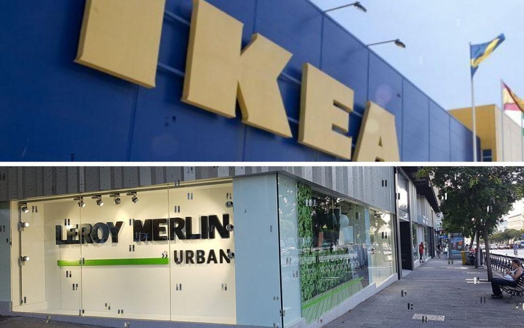 Ikea y Leroy Merlin comparten muchas características