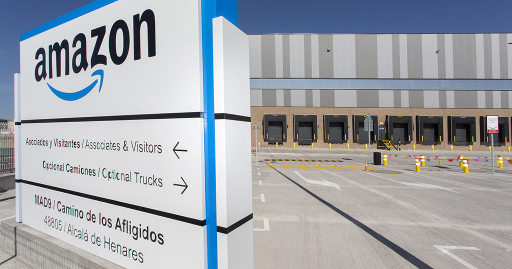 Centro logístico de Amazon en Alcalá de Henares