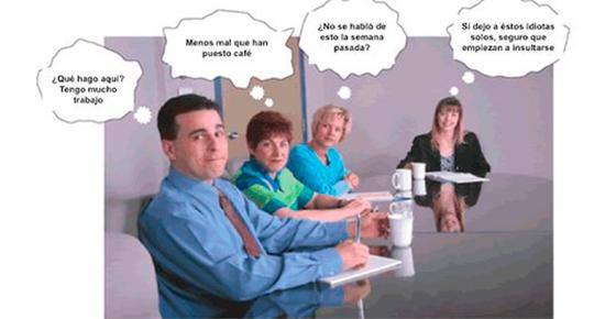 Las estadísticas indican que las reuniones son muchas veces largas e improductivas.